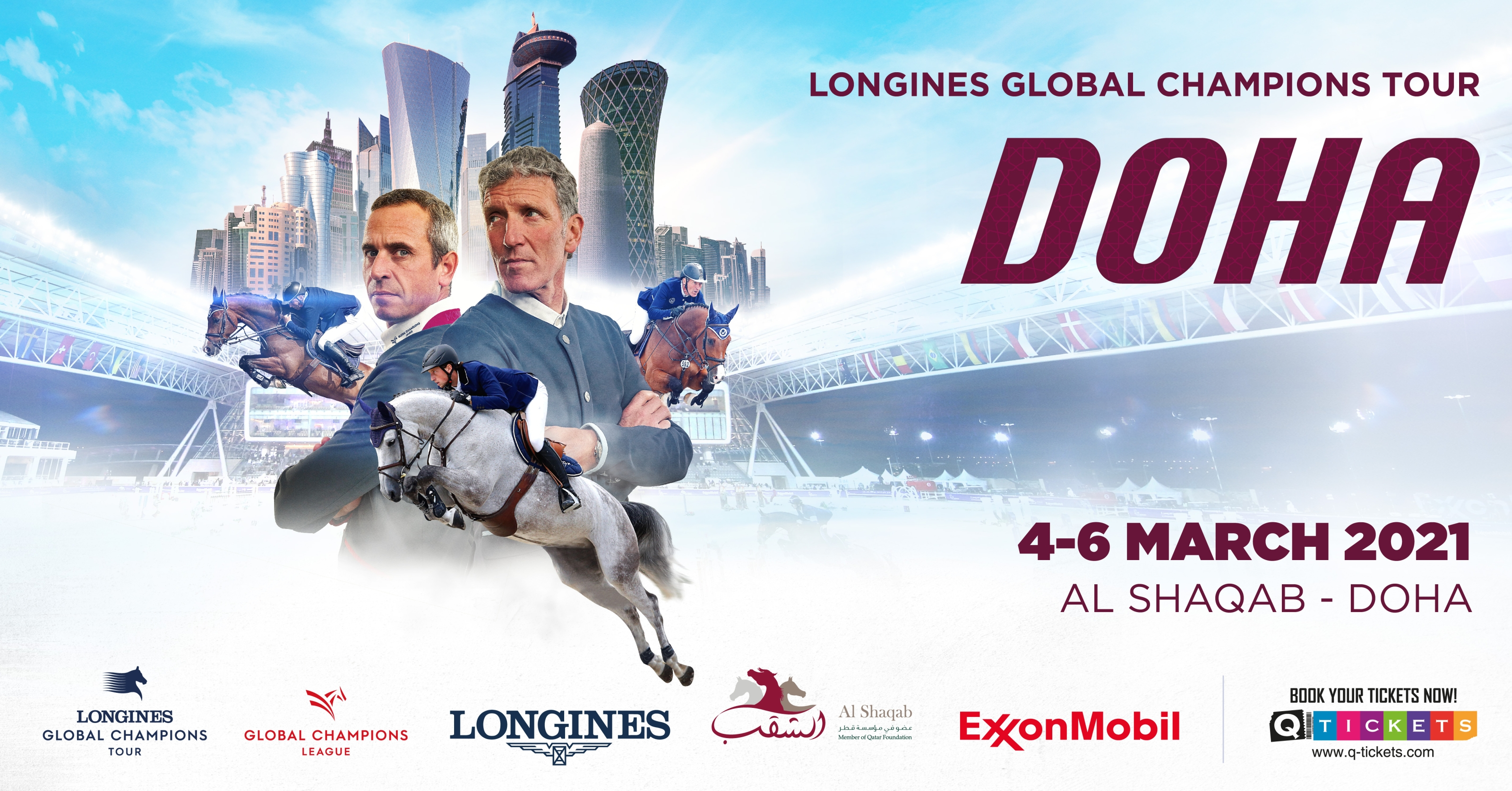 Al Shaqab to host spectacular LGCT and GCL 2021 season opener